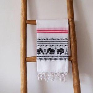 100% Cotton traditional Turkish pestamal towel